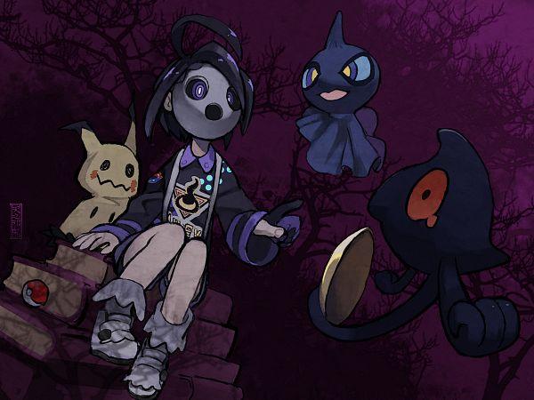 Tags: Anime, Pixiv Id 777922, Pokémon Ruby & Sapphire, Pokémon Black & White, Black and White 2, Pokémon Sword & Shield, Pokémon, Shuppet, Onion (Pokémon), Yamask