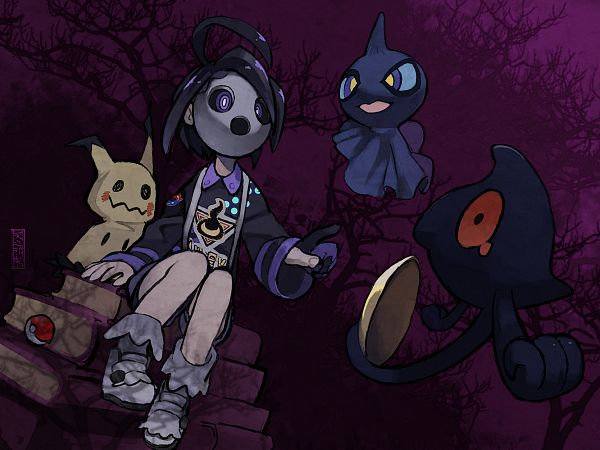 Tags: Anime, Pixiv Id 777922, Pokémon Black & White, Black and White 2, Pokémon Sword & Shield, Pokémon Ruby & Sapphire, Pokémon, Shuppet, Onion (Pokémon), Yamask