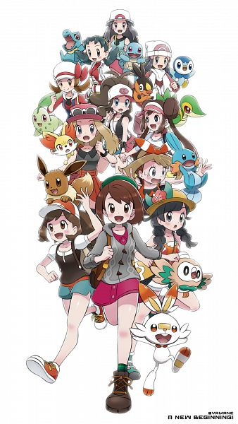 Tags: Anime, Pixiv Id 20894366, Pokémon Diamond & Pearl, Pokémon Sun & Moon, Pokémon: Let's Go Pikachu! & Let's Go Eevee!, Black and White 2, Pokémon Red & Green, Pokémon Ruby & Sapphire, Pokémon Ultra Sun & Moon, Pokémon X & Y, Pokémon Sword & Shield, Pokémon Black & White, Pokémon Gold & Silver