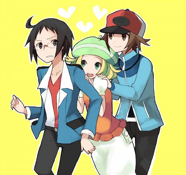 Tags: Anime, Pokémon, Cheren (Pokémon), Touya (Pokémon), Bel (Pokémon)