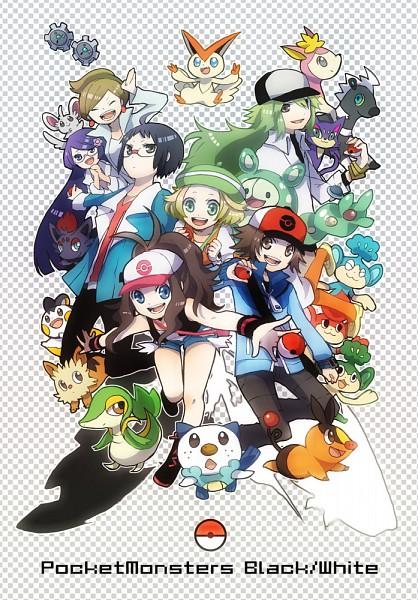 Tags: Anime, Buzz, Pokémon, Minccino, Victini, Oshawott, Reuniclus, Emolga, Touko (Pokémon), Makomo (Pokémon), Tepig, Blitzle, Purrloin