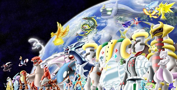 Tags: Anime, Esepibe, Pokémon Gold & Silver, Pokémon Red & Green, Pokémon Ruby & Sapphire, Pokémon Diamond & Pearl, Pokémon, Deoxys, Arceus, Rayquaza, Articuno, Mesprit, Mew