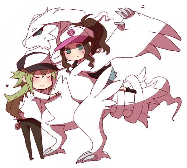 Tags: Anime, Niwako, Pokémon, N (Pokémon), Touko (Pokémon)