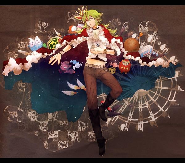 Tags: Anime, Ikuryomaga, Pokémon, Zorua, Darumaka, Vanilluxe, N (Pokémon), Royal Robe, Pixiv, Fanart