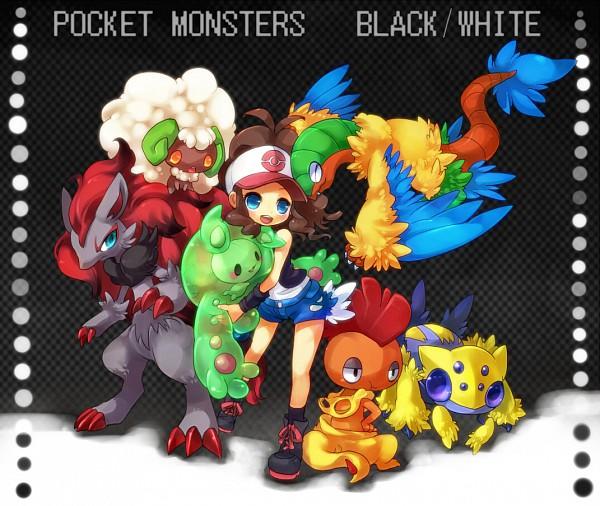 Tags: Anime, Kuo, Pokémon, Touko (Pokémon), Archeops, Zoroark, Whimsicott, Reuniclus, Scrafty, Galvantula, Pixiv