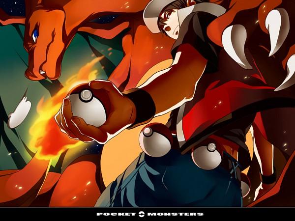 Tags: Anime, Pokémon, Charizard, Red (Pokémon)
