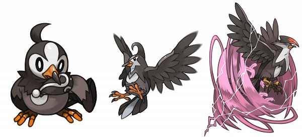 Tags: Anime, Pearlsaurus, Pokémon, Staravia, Staraptor, Starly, Facebook Cover