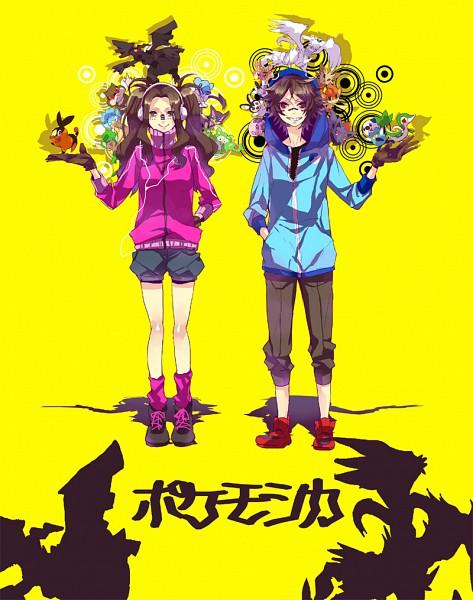 Tags: Anime, Ichikawa Ichi, Pokémon, Reuniclus, Gothita, Zorua, Pansage, Tepig, Munna, Pansear, Cubchoo, Zekrom, Panpour