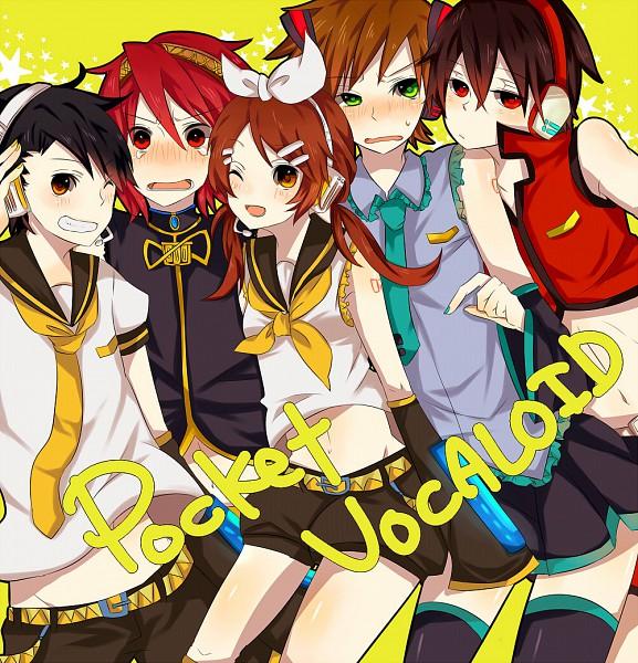 Tags: Anime, Chidori (@Rom), Pokémon, Red (Pokémon), Silver (Pokémon), Kotone (Pokémon), Hibiki (Pokémon), Green (Pokémon), Kagamine Len (Cosplay), MEIKO (Cosplay), Megurine Luka (Cosplay), Hatsune Miku (Cosplay), Kagamine Rin (Cosplay)