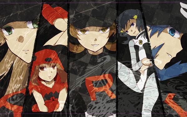 Tags: Anime, Nagase Ayame, Pokémon, Kris (Pokémon), Kotone (Pokémon), Haruka (Pokémon), Hikari (Pokémon), Leaf (Pokémon), Team Galactic (Cosplay), Team Magma (Cosplay), Team Rocket (Cosplay), Fanart