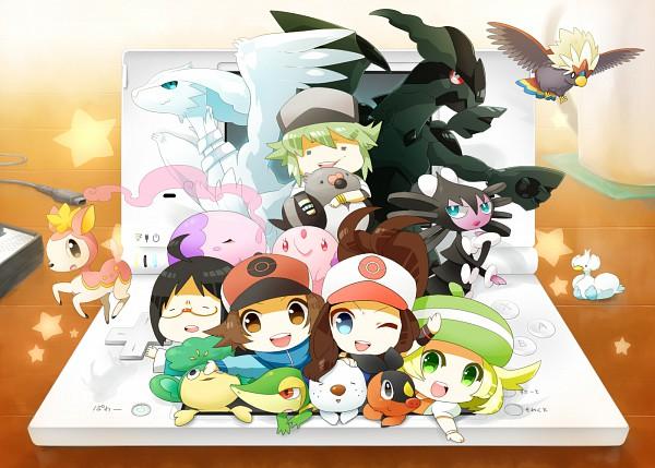 Tags: Anime, Rkp, Pokémon, N (Pokémon), Oshawott, Munna, Gothorita, Musharna, Tepig, Zekrom, Pansage, Ducklett, Gothitelle
