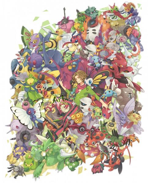 Tags: Anime, Azurebloom, Pokémon, Wurmple, Mothim, Dwebble, Heracross, Durant, Paras, Beautifly, Combee, Joltik, Surskit