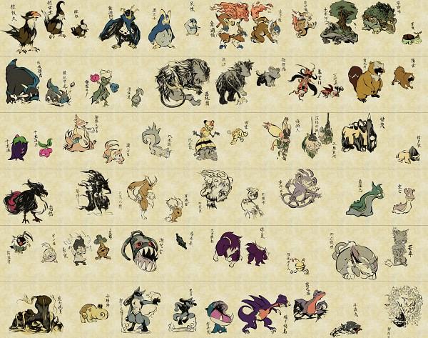 Tags: Anime, Nojo, Pokémon, Buizel, Cranidos, Munchlax, Hippopotas, Buneary, Vespiquen, Lucario, Lopunny, Shieldon, Burmy