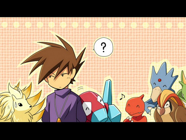 Tags: Anime, Miyu (Matsunohara), Pokémon SPECIAL, Pokémon, Pidgeotto, Porygon, Golduck, Ninetales, Green (Pokémon), Pixiv