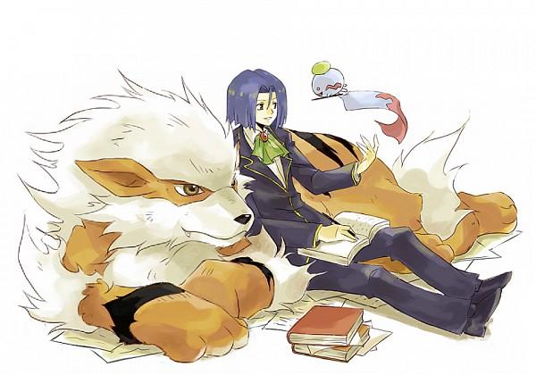 Tags: Anime, Usao (313131), Pokémon, Kojirou (Pokémon), Arcanine, Chimecho, Writing, PNG Conversion, Pixiv, Fanart