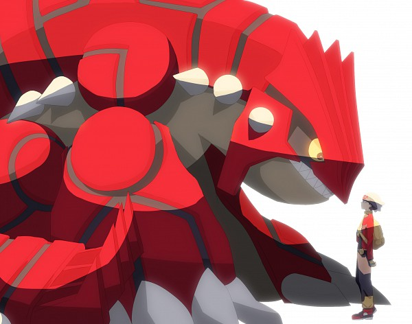 Tags: Anime, T0mare, Pokémon, Groudon, Yuuki (Pokémon), Legendary Pokémon