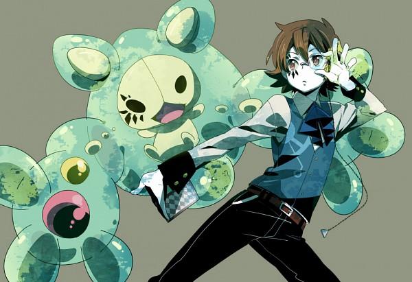 Tags: Anime, Chima Tsuitta, Pokémon, VOCALOID, Touya (Pokémon), Reuniclus, Poker Face, Fanart, Pixiv