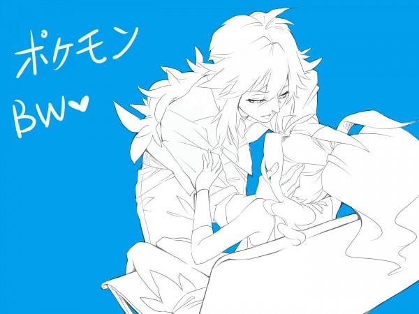 Tags: Anime, Pokémon, Touko (Pokémon), N (Pokémon), Pixiv, Sketch, NTouko