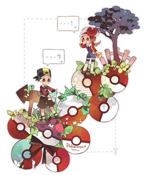Tags: Anime, Rinju Umisu, Pokémon, Kotone (Pokémon), Hibiki (Pokémon)