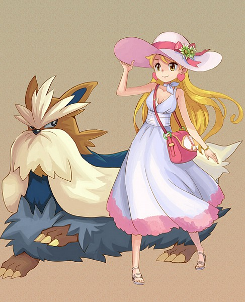 Tags: Anime, Amg192003, Pokémon, Lady (Pokémon), Shawl, deviantART, Trainer Class