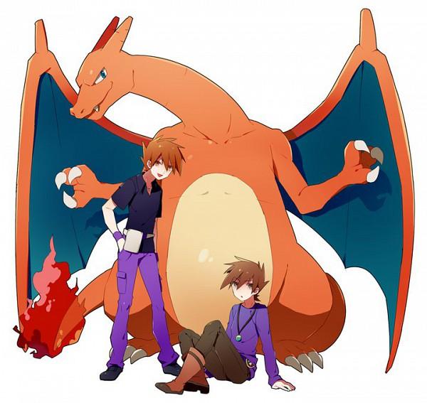 Tags: Anime, Pokémon SPECIAL, Pokémon, Charizard, Green (Pokémon)