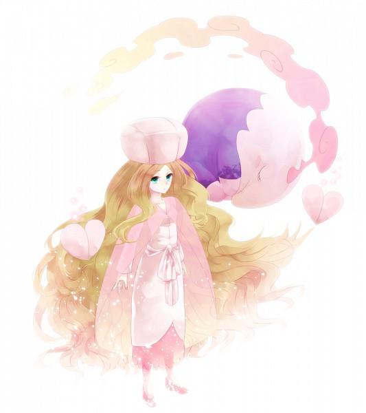 Tags: Anime, Yumecocco, Pokémon, Musharna, Cattleya, Pixiv, Fanart From Pixiv, Fanart