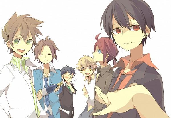 Tags: Anime, Pixiv Id 1336349, Pokémon, Red (Pokémon), Silver (Pokémon), Hibiki (Pokémon), Jun (Pokémon), Green (Pokémon)