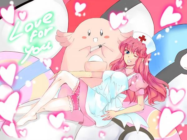Tags: Anime, Pixiv Id 570983, Pokémon, Chansey, Joy (Pokémon), Fanart From Pixiv, Fanart, Pixiv