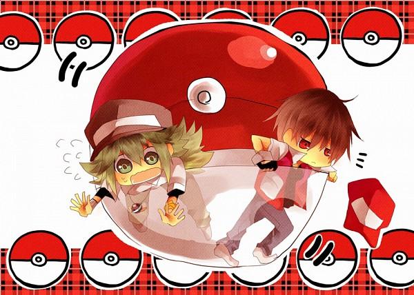 Tags: Anime, Pokémon, N (Pokémon), Red (Pokémon)