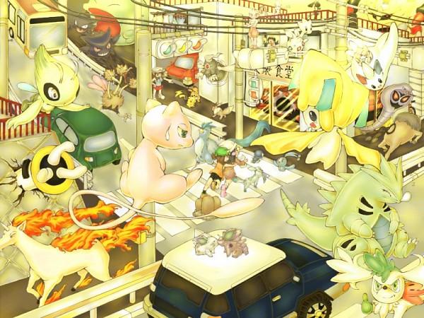 Tags: Anime, Pokémon, Regigigas, Piplup, Jirachi, Articuno, Mew, Manaphy, Dodrio, Leaf (Pokémon), Arbok, Togetic, Gulpin
