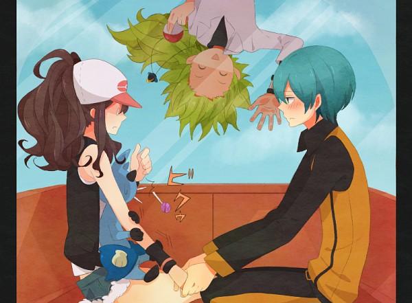 Tags: Anime, Atori (Pixiv1630387), Pokémon, Dewott, N (Pokémon), Touko (Pokémon), Ace Trainer, Date, Ferris Wheel, Trainer Class