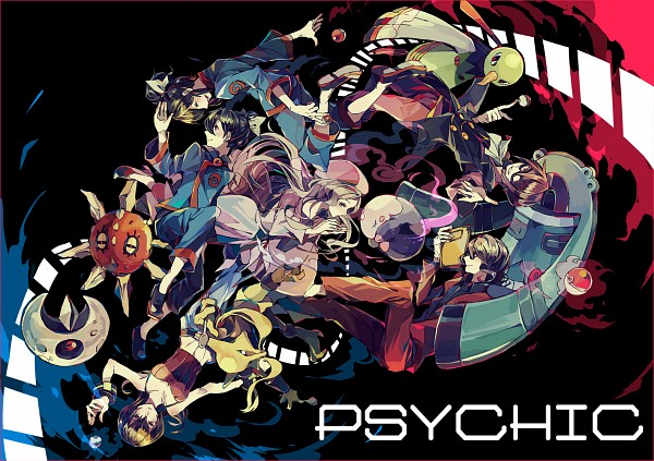 Tags: Anime, Yuuichi Bobobo, Pokémon, Alakazam, Goyou (Pokémon), Fuu (Pokémon), Musharna, Lunatone, Ran (Pokémon), Natsume (Pokémon), Solrock, Itsuki (Pokémon), Bronzong