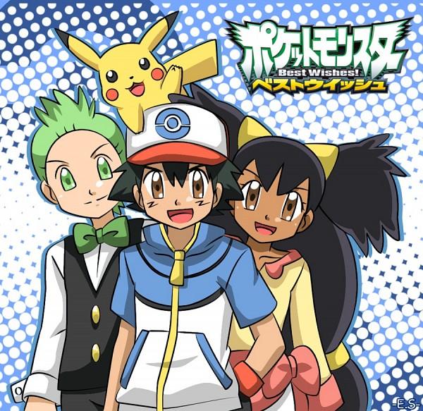 Tags: Anime, Pokémon, Satoshi (Pokémon), Iris (Pokémon), Dento (Pokémon)