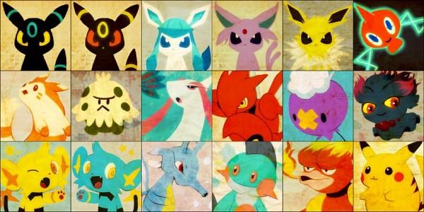 Tags: Anime, Tetsuko009, Pokémon, Shinx, Shroomish, Jolteon, Misdreavus, Marshtomp, Magmar, Pikachu, Milotic, Glaceon, Scizor
