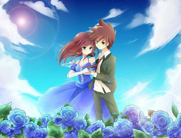 Tags: Anime, Pixiv Id 2036400, Pokémon SPECIAL, Pokémon, Leaf (Pokémon), Green Oak (Pokémon SPECIAL), Blue (Pokémon SPECIAL), Green (Pokémon), Pixiv, GreBlue
