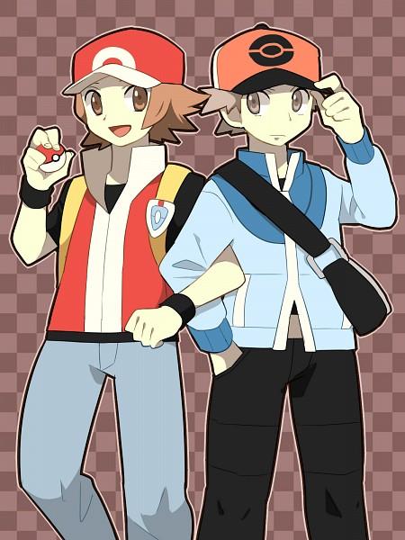 Tags: Anime, Pixiv Id 430137, Pokémon, Touya (Pokémon), Fire (Pokémon), Touya (Pokémon) (Cosplay), Fire (Pokémon) (Cosplay), Red (Pokémon) (Cosplay)