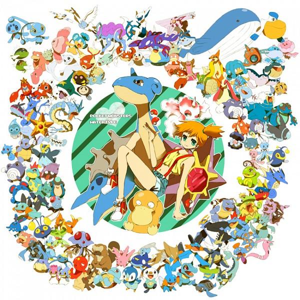 Tags: Anime, Mochi730, Pokémon, Blastoise, Panpour, Wailmer, Politoed, Finneon, Lotad, Marshtomp, Prinplup, Octillery, Basculin