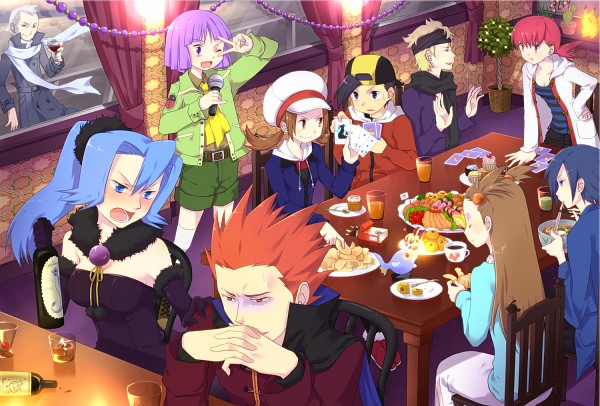 Tags: Anime, Pokémon, Hibiki (Pokémon), Lanturn, Ibuki (Pokémon), Eevee, Dragonite, Dragonair, Natu, Umbreon, Yanagi (Pokémon), Akane (Pokémon), Wataru (Pokémon)