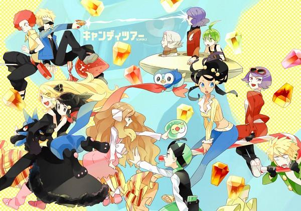 Tags: Anime, Gumidemo Kandero, Pokémon, Denji (Pokémon), Lucario, Kikuno (Pokémon), Stage Madonna Kate, Shirona (Pokémon), Ryou (Pokémon), Dahlia (Pokémon), Piplup, Ooba (Pokémon), Cattleya