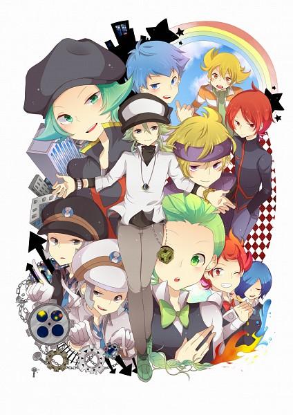 Tags: Anime, Tobari (Brokenxxx), Pokémon Black & White, Pokémon Diamond & Pearl, Pokémon Gold & Silver, Pokémon, Corn (Pokémon), Silver (Pokémon), Nobori, Dento (Pokémon), Kudari, N (Pokémon), Apollo (Pokémon)