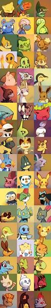 Tags: Anime, Purplekecleon, Pokémon, Munchlax, Squirtle, Litwick, Zorua, Archen, Larvitar, Pikachu, Axew, Gible, Sandile