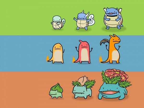 Tags: Anime, Pokémon, Charizard, Wartortle, Bulbasaur, Blastoise, Charmander, Venusaur, Squirtle, Charmeleon, Ivysaur, Turtle, Dinosaur