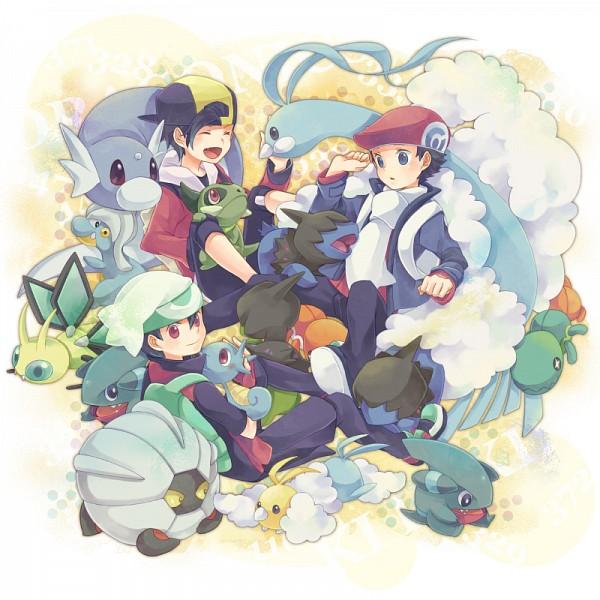 Tags: Anime, Azurebloom, Pokémon, Yuuki (Pokémon), Deino (Pokémon), Horsea, Vibrava, Kouki (Pokémon), Axew, Dratini, Trapinch, Altaria, Hibiki (Pokémon)