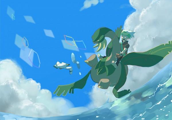 Tags: Anime, Pokémon, Tropius, Yuuki (Pokémon)
