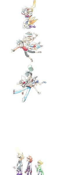Tags: Anime, Pixiv Id 1062736, Pokémon SPECIAL, Pokémon, Leaf (Pokémon), Yellow (Pokémon Special), Kris (Pokémon), Haruka (Pokémon), Emerald (Pokémon SPECIAL), Red (Pokémon), Yuuki (Pokémon), Silver (Pokémon), Green (Pokémon)