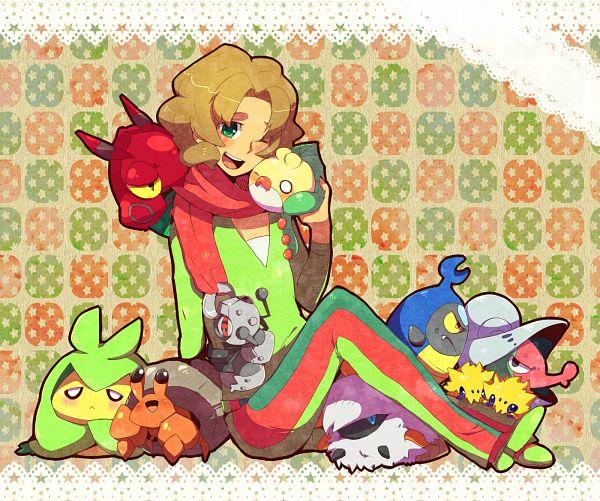 Tags: Anime, Pixiv Id 718668, Black and White 2, Pokémon Black & White, Pokémon, Durant, Larvesta, Sewaddle, Joltik, Dwebble, Arty (Pokémon), Shelmet, Venipede