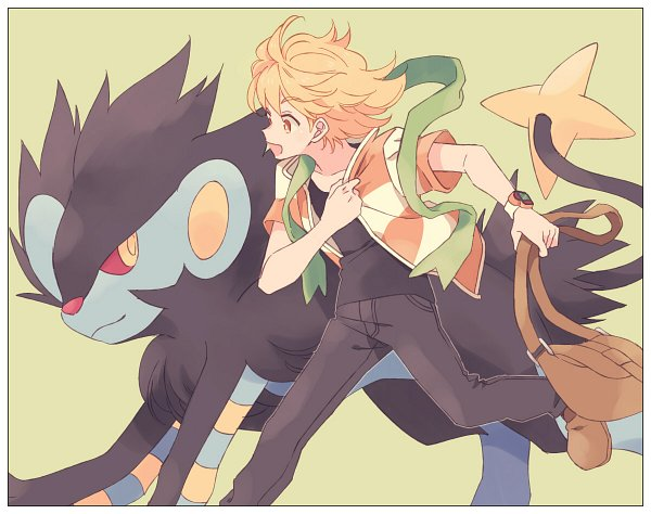 Tags: Anime, Komasawa (Fmn-ppp), Pokémon Diamond & Pearl, Pokémon, Jun (Pokémon), Luxray, Pixiv, Fanart From Pixiv, Fanart