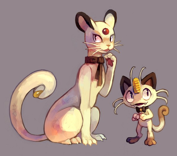 Tags: Anime, Purplekecleon, Pokémon Fushigi no Dungeon, Pokémon, Persian, Meowth, deviantART, Pokemon Mystery Dungeon