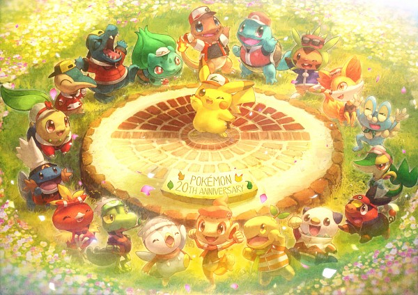 Tags: Anime, Coken, Pokémon Fushigi no Dungeon, Pokémon, Squirtle, Treecko, Cyndaquil, Oshawott, Chespin, Piplup, Torchic, Chikorita, Tepig, Pokemon Mystery Dungeon