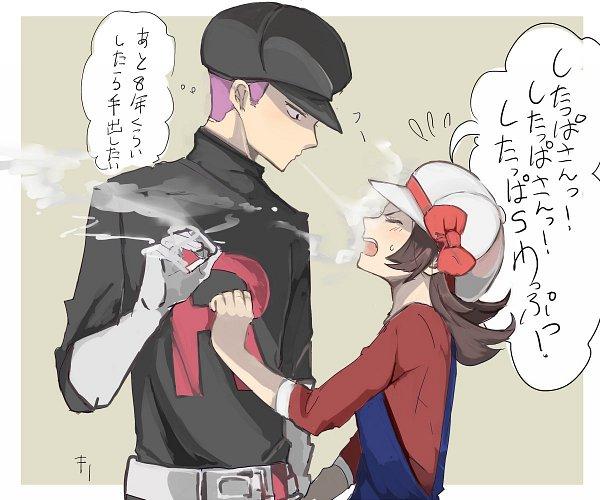 Tags: Anime, Kiri (Kiri0623lag), Pokémon Gold & Silver, Pokémon, Kotone (Pokémon), Team Rocket Underling (Male), Twitter, Fanart